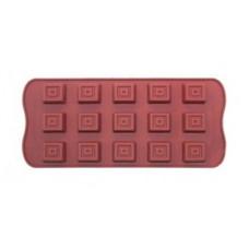 Форма для шоколада Vincent 21x10,8x1,7 см  VC-1387