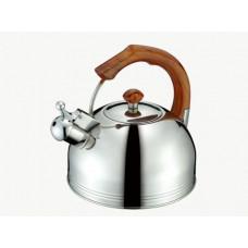 Чайник из нержавеющей стали со свистком Petergof 2,5 л