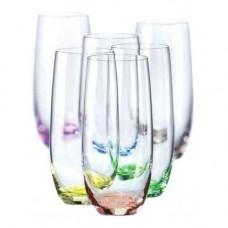 Набор стаканов Bohemia Rainbow 350 мл-6 шт b25180-D4662