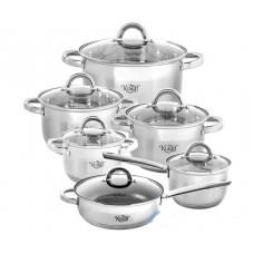Набор посуды Krauff Marmor 12 пр. 26-242-003