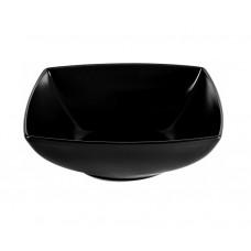 Салатник квадратный чёрный Ipec London 17х17см 30900375