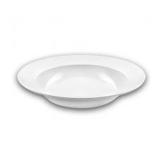 Тарелка суповая круглая белая Ipec Atena 23см FAA23A