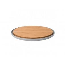 Доска кухонная с подставкой круглая BergHoff LEO, 36см 3950058