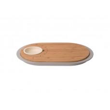 Доска для нарезки с поддоном и ёмкостью для соуса BergHoff LEO 3950060
