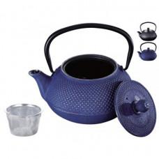 Чайник заварочный чугунный Peterhof 1л PH-15623 blue