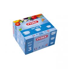 Набор кастрюль Pyrex Essentials 3пр. 912S637