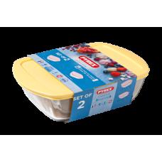 Набор форм Pyrex Butter Yellow 23х15см, 28х20см 912S945