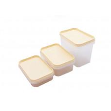 Набор ёмкостей для хранения продуктов Helfer 3шт 45-169-002