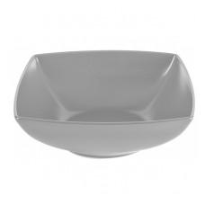 Салатник квадратный серый Ipec LONDON 17х17 см