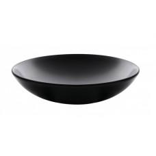Тарелка глубокая круглая черная Ipec MONACO 19 см