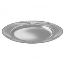 Тарелка обеденная круглая серая Ipec ATENA 27 см