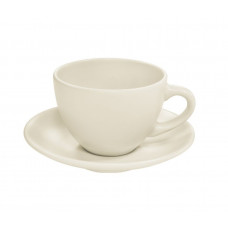 Чашка для чая с блюдцем Keramia