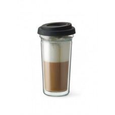 Термостакан с двойным дном и крышкой Simax Coffee To Go 400мл s2102/CTG
