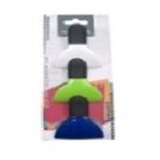 Набор зажимов для пакетов и записок с магнитом Vincent 3пр. VC-2069
