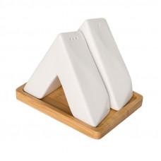 Набор на подставке соль/перец