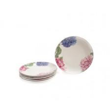 Набор десертных тарелок Astera Hortensie 20см-6шт A05230-S3-34