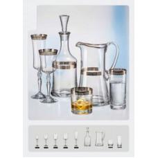 Набор для виски Bohemia Grace-7пр. b31B07-43081