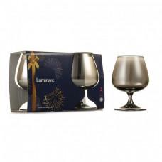 Набор бокалов для коньяка Luminarc СЕЛЕСТ сияющий графит 410мл-2шт P1567/1