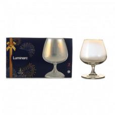 Набор бокалов для коньяка Luminarc СЕЛЕСТ золотистый хамелеон 410мл-2шт P1639/1
