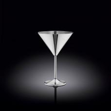 Бокал для мартини Wilmax.St.Steel Silver 300мл WL-552304