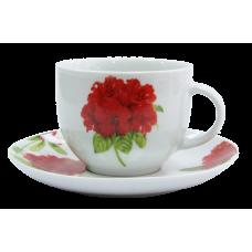 Набор чайный Milika Geranium 230мл-12пр M0630-WX12-8807