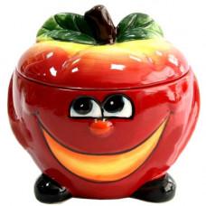 Банка для сыпучих Milika Smile Apple 500мл Color M07130-EDB125-A