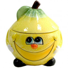Банка для сыпучих Milika Smile Lemon 500мл Color M07130-EDB125-B