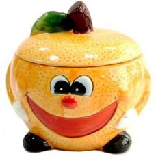 Банка для сыпучих Milika Smile Orange 500мл Color M07130-EDB127-B