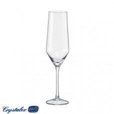 Набор бокалов для шампанского Bohemia Jane 220мл 6шт 40815 220