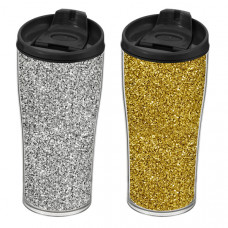 Термокружка HEREVIN SILVER&GOLD GLITTER MIX 440мл 161483-017
