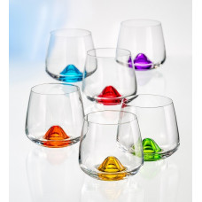 Набор стаканов Bohemia Islands 310мл 6шт 25267 310S D4725