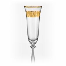 Набор бокалов для шампанского Bohemia Angela 190мл-2шт 40600 190 Q8184