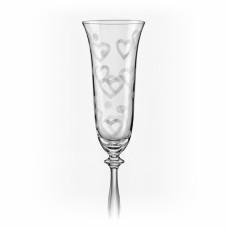 Набор бокалов для шампанского Bohemia Angela 190мл-2шт 40600 C5775 190