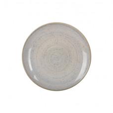 Тарелка обеденная круглая бронзовая Ipec Monaco 24см 30906100