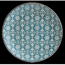 Тарелка десертная Astera Engrave Blue 19см A0470-HP21-S