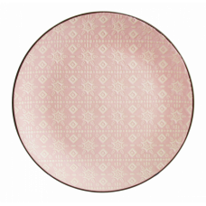Тарелка десертная Astera Engrave Pink 19см A0470-HP22-S