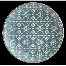 Тарелка обеденная Astera Engrave Blue 27см A0480-HP21-D