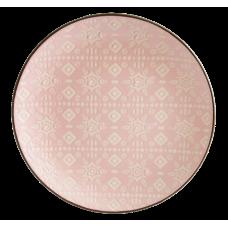 Тарелка обеденная Astera Engrave Pink 27см A0480-HP22-D
