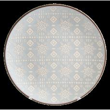 Тарелка обеденная Astera Engrave Grey 27см A0480-HP23-D