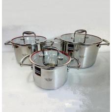 Набор посуды  Krauff Kronprinz 6 пр  26-247-010