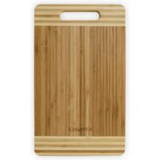 Доска кухонная прямоугольная бамбуковая Lessner 50х36х2см 10301-50