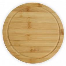 Доска кухонная круглая бамбуковая Vincent д28х2см VC-2103-28