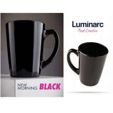 Кружка Luminarc New Morning Black 320мл Q0156