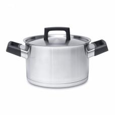 Кастрюля с металлической крышкой BergHoff RON 20см (3.7 л) 3900023