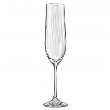 Набор бокалов для шампанского Bohemia Waterfall 190мл-6шт b40729-opt22