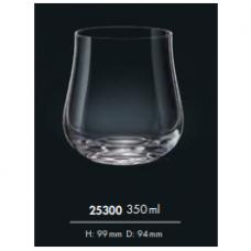 Набор стаканов для виски Bohemia Tulipa 350мл-6шт 25300 350