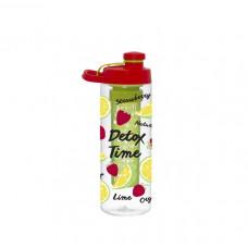 Бутылка для воды HEREVIN STRAWBERRY-DETOX TWIST 750мл 161568-002