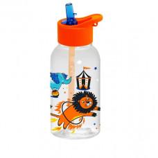 Бутылка для воды с трубочкой HEREVIN CIRCUS 460мл 161807-360