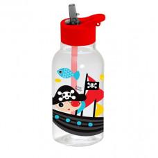 Бутылка для воды с трубочкой HEREVIN PIRATE 460мл 161807-380