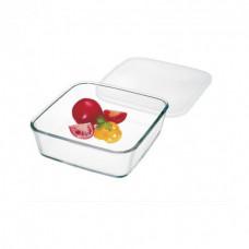 Ёмкость квадратная с пластиковой крышкой Simax Color 1л s7476/L